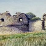 Döbrönte (Veszprém megye) 2001 Akvarell
