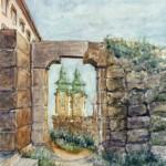 Egeri vár, Tömlőcbástya 1991 Akvarell