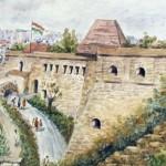 Eger bejárat 1991 Akvarell