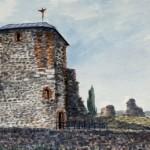 Kisnána (Mátra) 2000 Akvarell