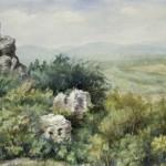 Regécz 1984 Akvarell