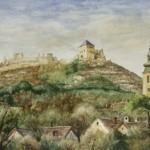 Sümeg 1984 Akvarell